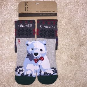 Ellen DeGeneres kindness polar bear socks
